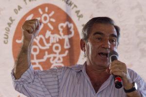 Carvalho afirmou que o atual modelo de desenvolvimento está esgotado e é preciso revê-lo corajosamente. Foto: Fabio Caffé/Imagens do Povo.
