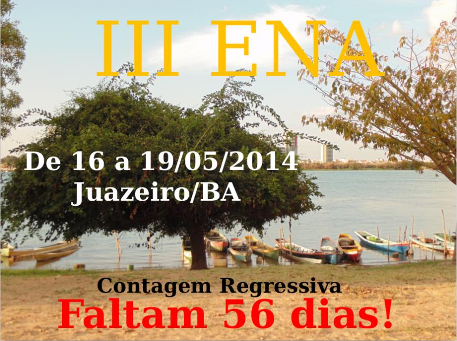 Apresentação percurso até III ENA: reunião março/2014